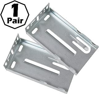 Gobrico Face Frame Rear Mounting Brackets for Drawer Slides Furniture Hardware 1Pair