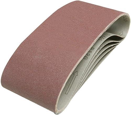 Silverline 846448 5 bandes abrasives 100 x 610 mm Grain 120