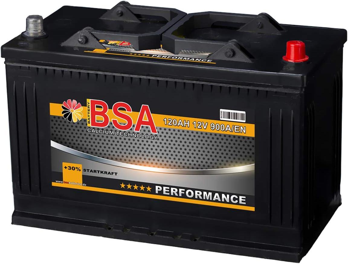 Bsa Lkw Batterie 120ah 12v Transporter Starterbatterie 115ah 110ah Elektronik