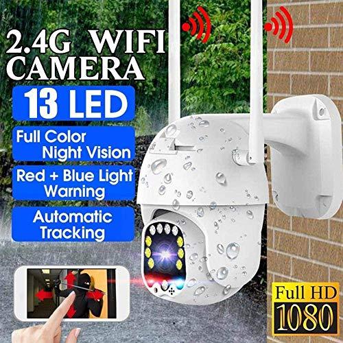 safc Kamera IP 1080P WiFi Wireless PTZ wasserdicht 5X Zoom HD 2MP Sicherheitsüberwachung mit Zwei-Wege-Sprachbewegungserkennung IR Nachtsicht Remote Viewing-Only_Camera