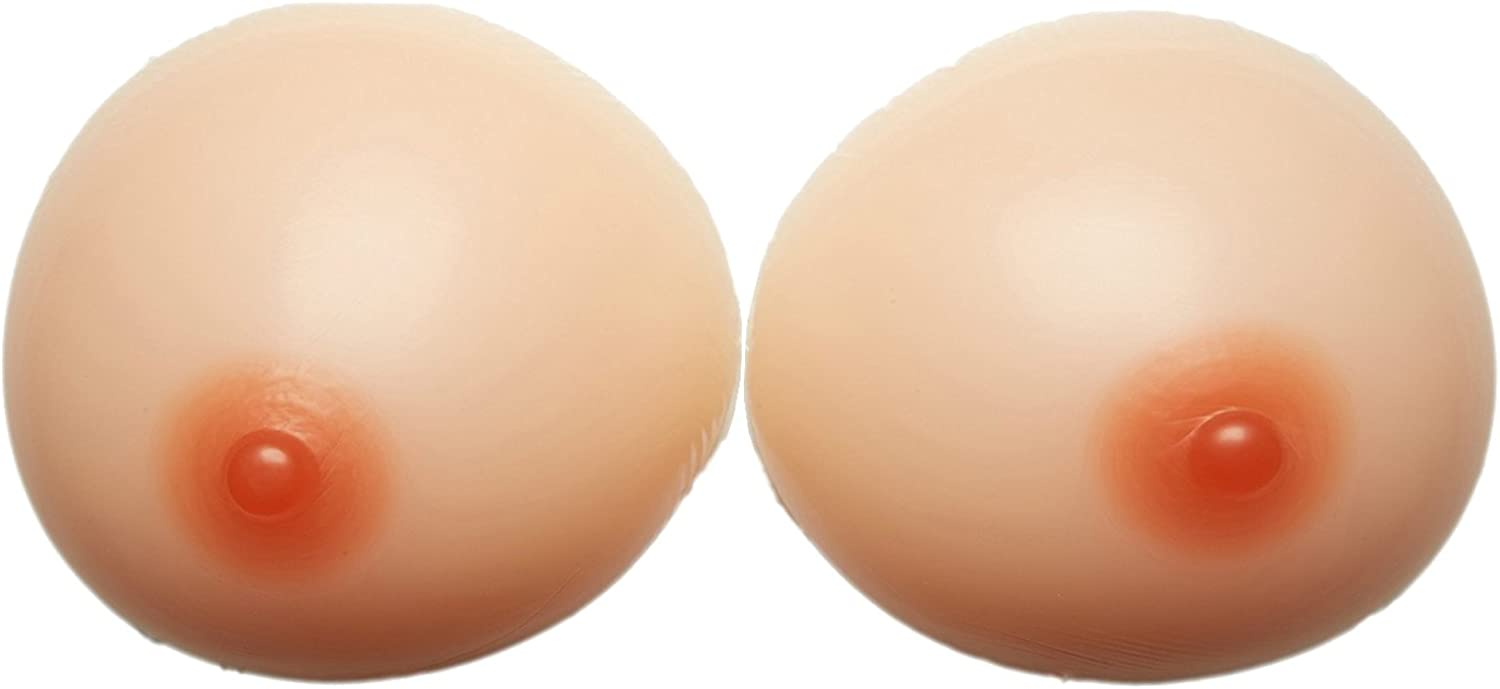 ENVY BODY SHOP Wider Tear Drop Oval Silicone Breast Forms Breast Enhancers Fake Boobs