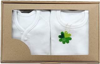 村信 超大的短袖连体衣 礼盒装 前开&肩开式 60cm ~ 75cm GB-N7700-2