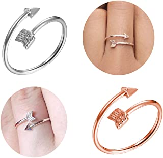 choice of all Women's Adjustable Arrow Ring - Cute Toe Ring for BFF Friends Teen Girls