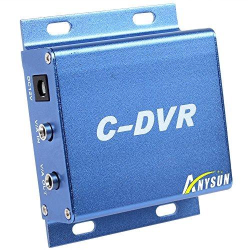 Anysun Mini Security DVR Mini CCTV CDVR Micro SD Card Recording Metal with Charger