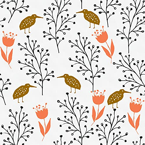 """Floral Peel and Stick Wallpaper Floral Contact Paper 17.7""""x 196.8""""Tulip..."""