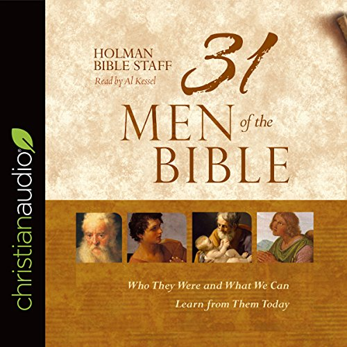 31 Men of the Bible audiobook cover art
