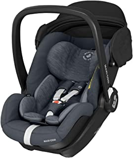 Maxi-Cosi Marble-Babyautostoeltje, Autostoeltje met Ligstand en ISOFIX-basis, Groep 0+, i-Size, 40 – 85 cm, Essential Grap...