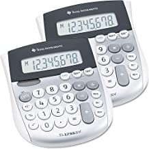 Texas Instruments : TI-1795SV Handheld Calculator, Eight-Digit LCD -:- Sold as 2 Packs of - 1 - / - Total of 2 Each by Tex...