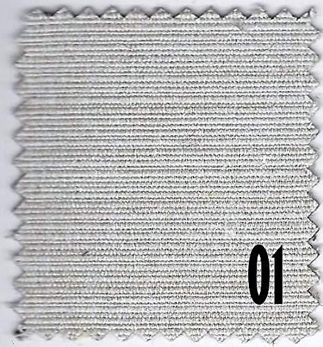 TELA PARA TAPIZAR - PRECIO PARA 2 METROS DE TELAS, ASPECTO LINO RUSTICO - PARA TAPIZADOS, DECORACIÓN, HOGAR, ETC. - VARIOS COLORES A ELEGIR - VENTA POR METROS - SERIE: KYOTO (01)