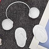 Produits de soins capillaires de durabilité pour la décoration de photographie de bébé(white, Newborn)