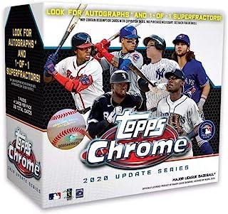 Topps MLB Chrome Updates Baseball Trading Card Mega Box