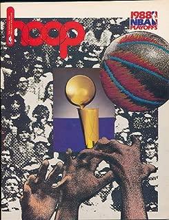 1988 Boston Celtics Pistons NBA Playoffs Program em-nm