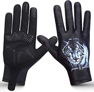 Workout Gloves for Men and Women, Full Finger Sports Gloves with Touchscreen,Full Palm Protection for Fishing, Workout, Ru...