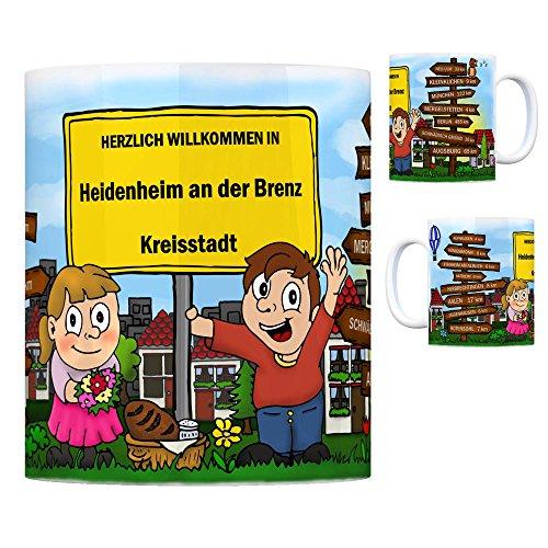 Herzlich Willkommen in Heidenheim an der Brenz Kaffeebecher