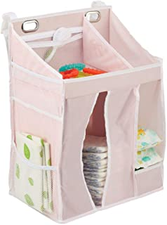 mDesign panier rangement bébé – étagère de rangement pour couches, lingettes, sucettes, jouets, etc. – organiseur salle de...