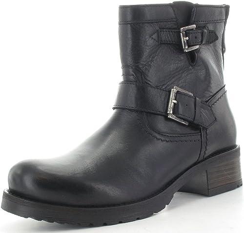 Buffalo - botas de Piel Lisa para mujer