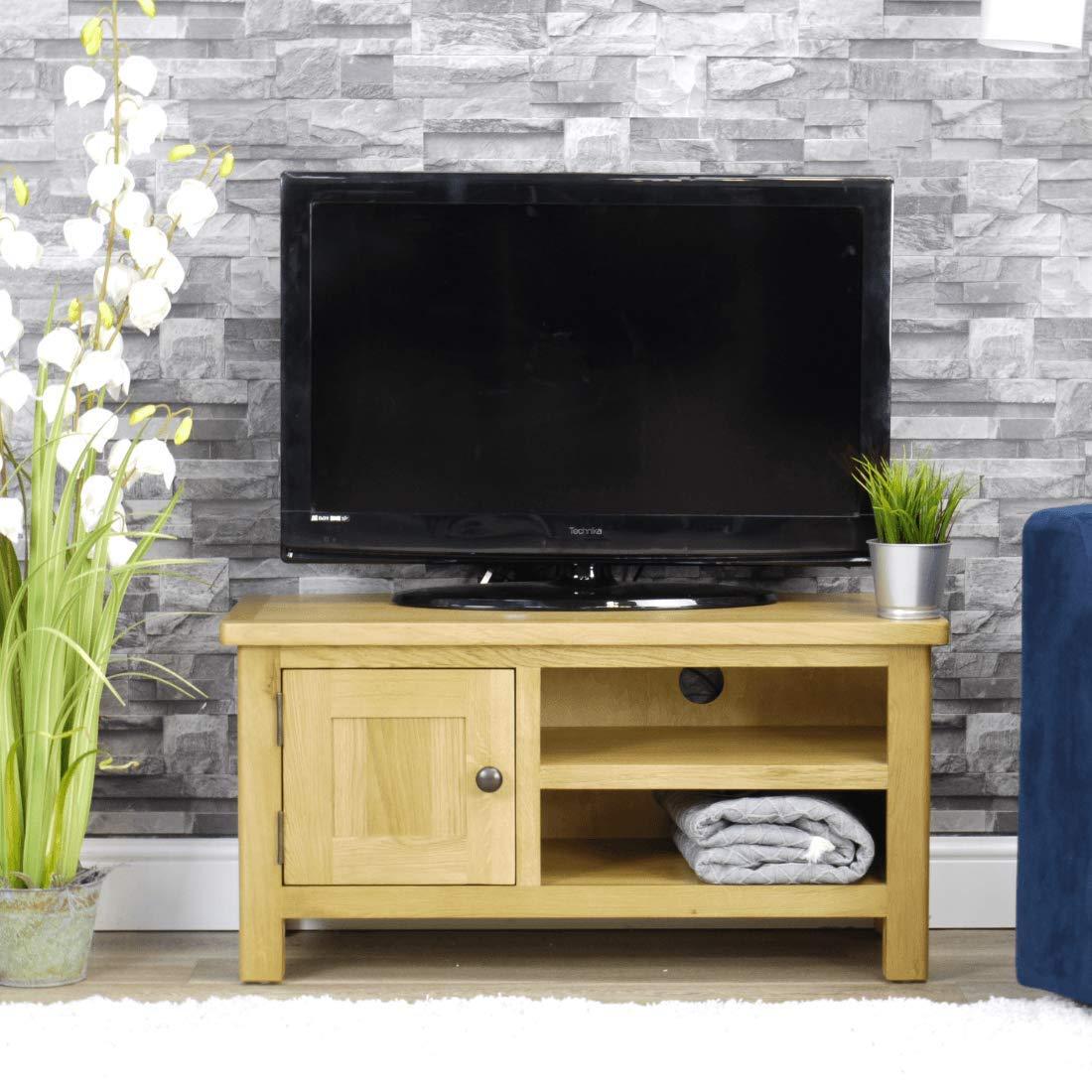 Mueble de TV Milan Roble   Mueble de Almacenamiento para televisor ...