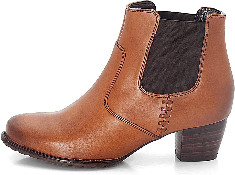 Schuhe Florenz, braun, Echtleder, Comfort-Flex