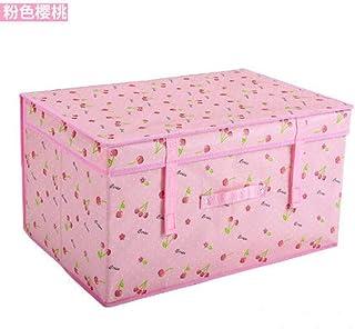 AQGELSNX Tissu Non tissé Enduit Carton Pliant Boîte de Rangement Vêtements recouverts Boîte de Rangement Boîte de Rangemen...