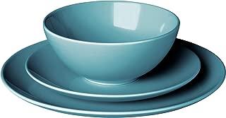 IKEA 902.477.09 Färgrik 18-Piece Dinnerware Set, Turquoise