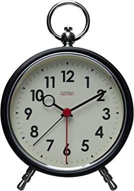 Cloudnola Time Line Metal Wall and Tabletop Clock and Wall Decor Silver Battery Operated Digital Display 60 cm Wide