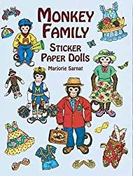 Monkey Family Sticker Paper Dolls (Dover Paper Dolls)