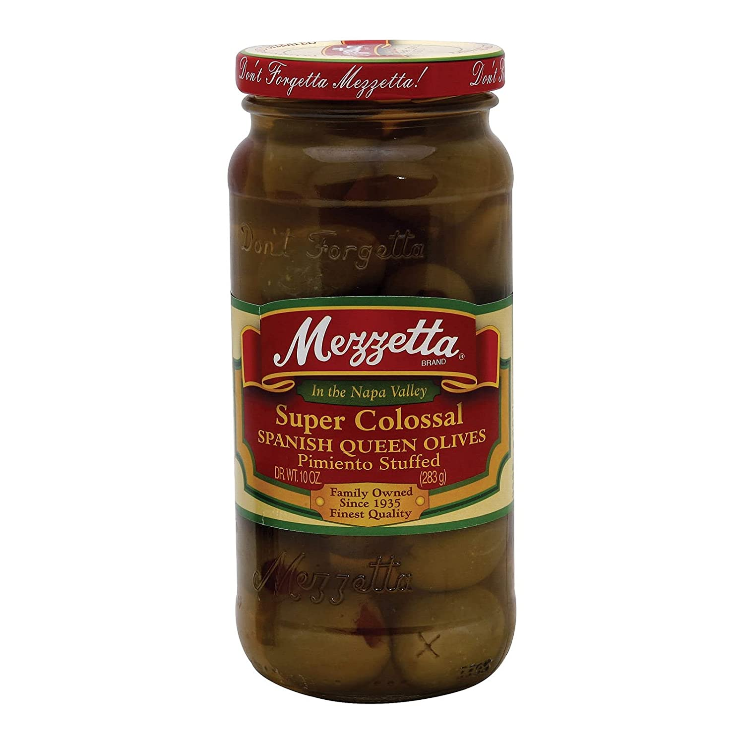 Super popular specialty store Mezzetta Colossal Spanish Queen Olives 6 of Pack oz. NEW before selling ☆ 10