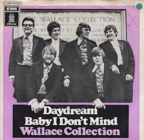 Wallace Collection - Daydream / Baby I Don\'t Mind - Odeon - 1C 006-04 047