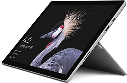 "Microsoft Surface Pro 5 or 6, 12.3"" Touchscreen Latest Model Tablet PC, 128GB SSD, Intel Core M3/4GB OR i5-8250U/8GB DDR4 Memory, WiFi, Card Reader, Bluetooth, Windows 10, Customized Accessories"