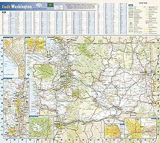 Washington State Wall Map - 20.75
