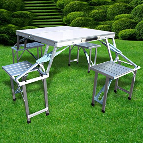 Preisvergleich Produktbild Generic YC-AMD2-151126-41 48x11cmbel Sitzga Campingmbel Sitzgarnitur Sitzgruppe Picknick Set Campingtisch 80x48x11cm Sitzgruppe
