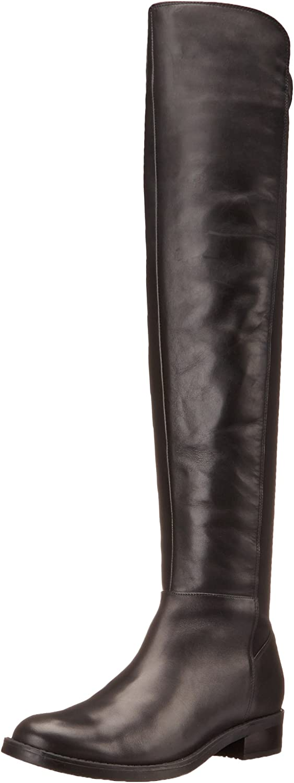 Blondo Women's Eden Black strech Faric boots 10 M