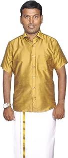 PRAKASAM COTTON Men's Regular Fit Shirt