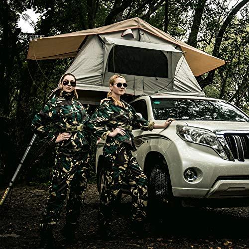 Dachzelt, Outdoor-Campingzelt, Autozelt, Wasserdicht Und UV-Schutz 1-1,9 M AIG54 Zelt Für 3 Personen