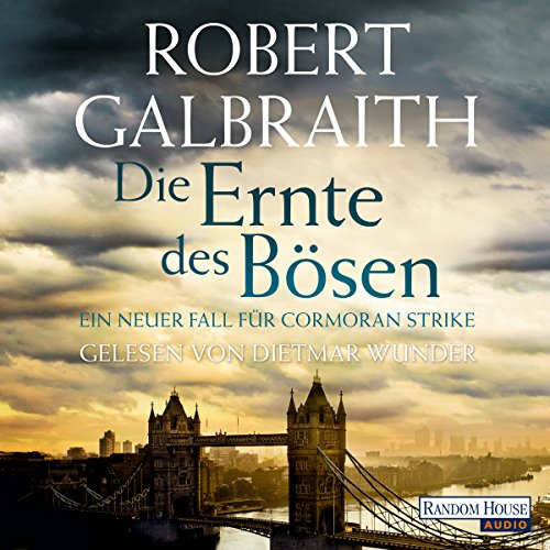 Die Ernte des Bösen     Cormoran Strike 3              By:                                                                                                                                 Robert Galbraith                               Narrated by:                                                                                                                                 Dietmar Wunder                      Length: 18 hrs and 23 mins     2 ratings     Overall 3.0