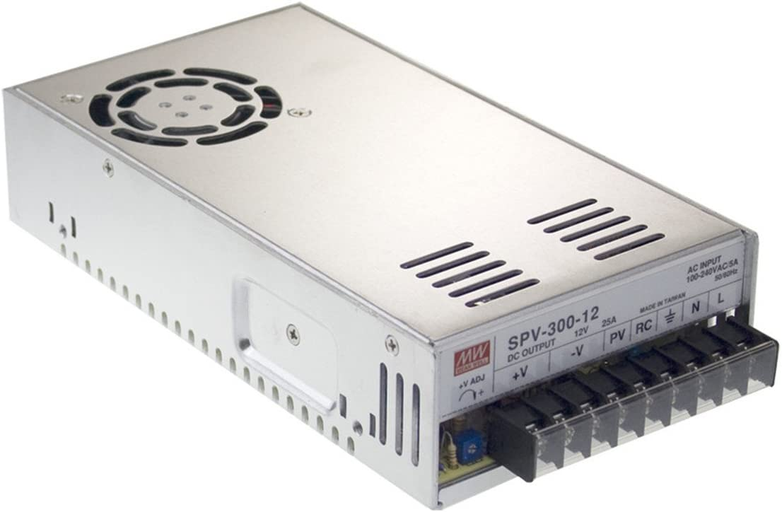 MW Mean Well SPV-300-12 12V 25A 300W Single Output with PFC Function Power Supply
