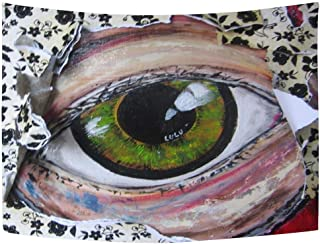 HOOSUNFlagrbfa Big Brother Wall Hanging Tapestry Vintage Home Deco