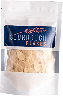 Sourdough Flakes I Dehydrated, Aged Sourdough Starter l Bake Artisan Bread At Home I Sourdough Made Simple I 15g