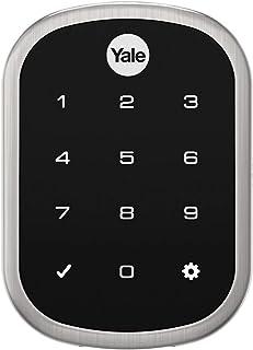 Fechadura Digital Yale YRD 256 TR Trinco Rolete, Compatível com Alexa