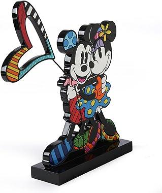 Enesco Disney by Britto Mickey and Minnie Plaqurine Figurine, 9-Inch