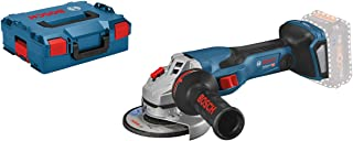 Bosch Professional BITURBO Cordless Angle Grinder GWS 18V-15 C (Disc Diameter 125 mm, without Batteries and Charger, in L-...