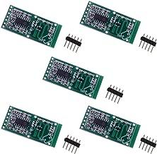 HUAZHU RCWL-0516 Motion Detection Sensor, Microwave Radar Sensor, Switch Module, for Arduino ESP8266 Nodemcu Wemos, for Raspberry PI, for Human Rat Cat Detector, Detection Distance 5-7m