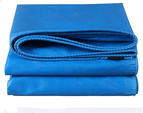 GZW001 Toile de Prougeection Anti-Pluie Bache de Prougeection extérieure Bache de Prougeection Solaire Anti-Pluie Toile de Prougeection Solaire PVC Bleu