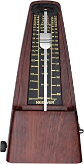 Neewer NW-707 Square Wind up Mechanical Metronome with Accurate Timing and Tempo for Piano Guitar Bass Drum Violin and Other Musical Instruments Ideal for Music Lovers