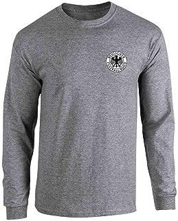 Germany Soccer Futbol Retro Vintage National Team Full Long Sleeve Tee T-Shirt