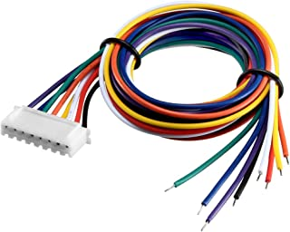 uxcell 7S 8Pin Female -XH Lipo Balance Wire Extension Lead Charger Plug Terminal Cable 26AWG 50cm 5Pcs
