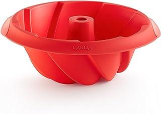 Lékué 1211820 Moule Silicone, Rouge, 20 cm