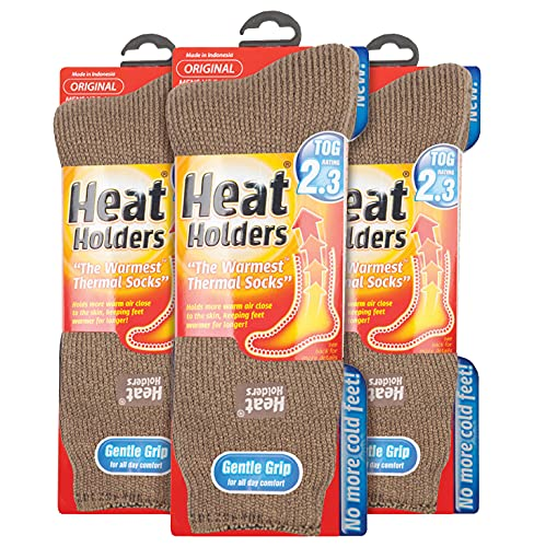 HEAT HOLDERS - 3 Pack Multipack Mens Insulated Thermal Socks for Winter...