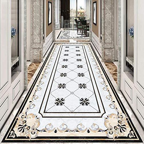 Europäischer Stil Marmorboden Tapete 3D Wohnzimmer Hotel Luxus Dekor Fliesen Boden Wandbild PVC Selbstklebende wasserdichte Aufkleber 400x280cm