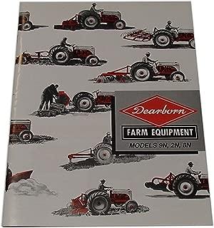 Implement Sales Brochure for Ford Tractor 2N 8N 9N 39 40 41 42 43 44 47 50 51 52